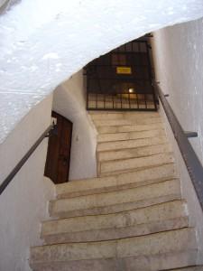 Treppe zur Bastei